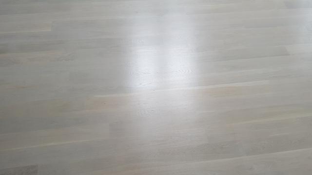 Deska dąb klasa II bielona