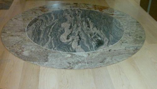 Deska, jesion biały, granit